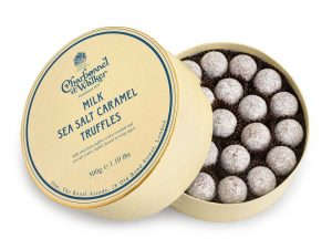 Milk Sea Salt Caramel Chocolate Truffles
